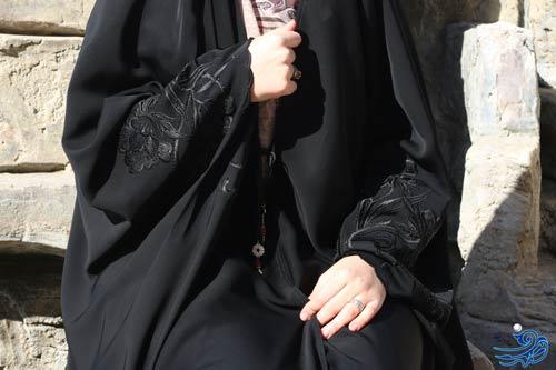 چادر عبا عربی گلدوزی