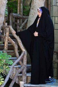 چادر عبا عربی مچدار