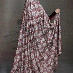 چادر رنگی ساتن اندونزی