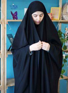 خرید چادر لبنانی مقنعه دار