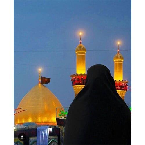عکس دختر چادری ایرانی
