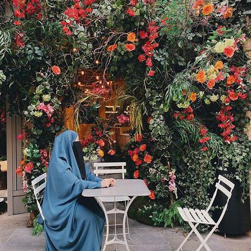 عکس زن چادری