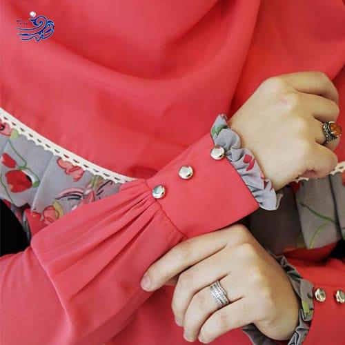ست ساق و دست گلدوزی شده
